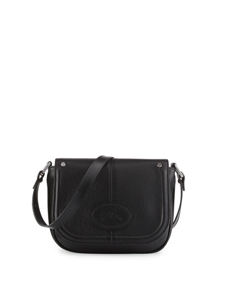 Longchamp Mystery Small Leather Crossbody Bag