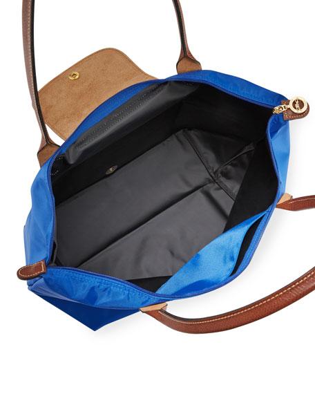 Le Pliage Large Shoulder Tote Bag, Blue