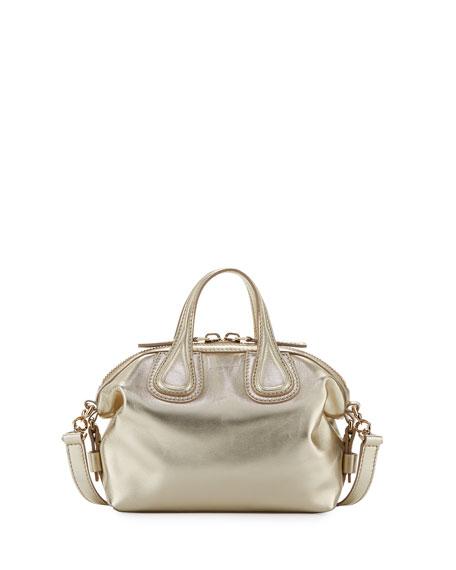 Givenchy Nightingale Mini Leather Satchel Bag
