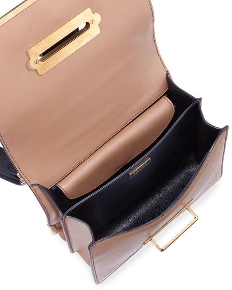 Cahier Notebook Shoulder Bag, Caramel/Black (Caramel/Nero)