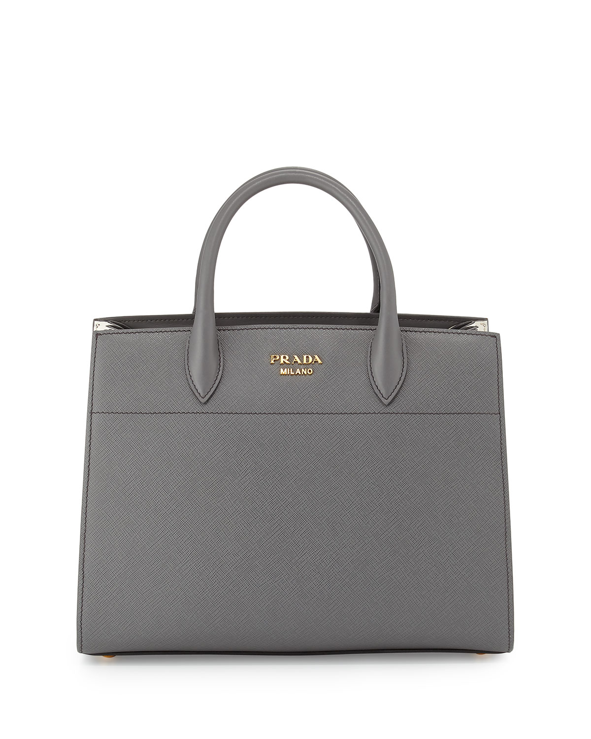 596c9919d550 Prada Bibliotheque Medium Saffiano Top-Handle Tote Bag