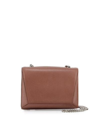 Ines Leather Shoulder Bag, Venus