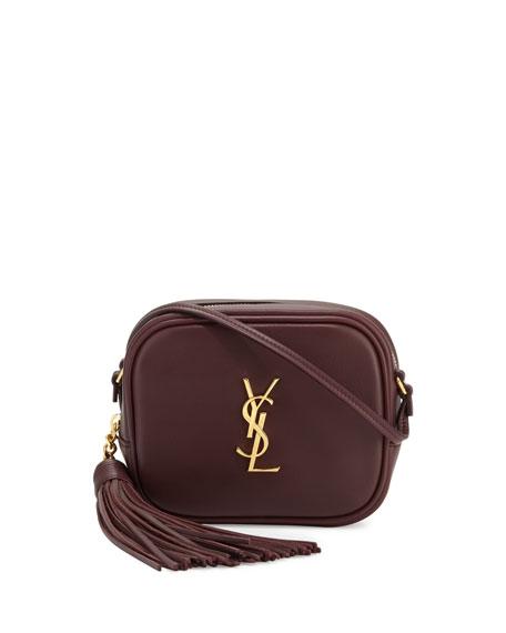 Monogram Blogger Leather Crossbody Bag
