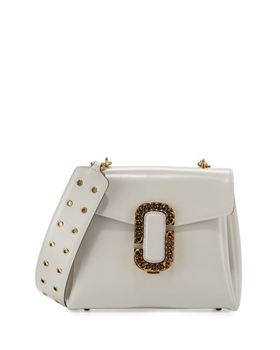 St. Marc Top-Handle Bag, Off White