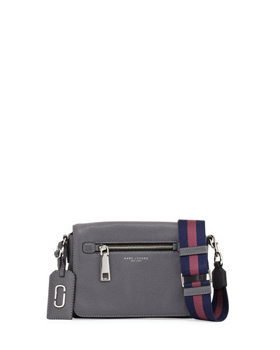 Gotham Small Shoulder Bag, Shadow