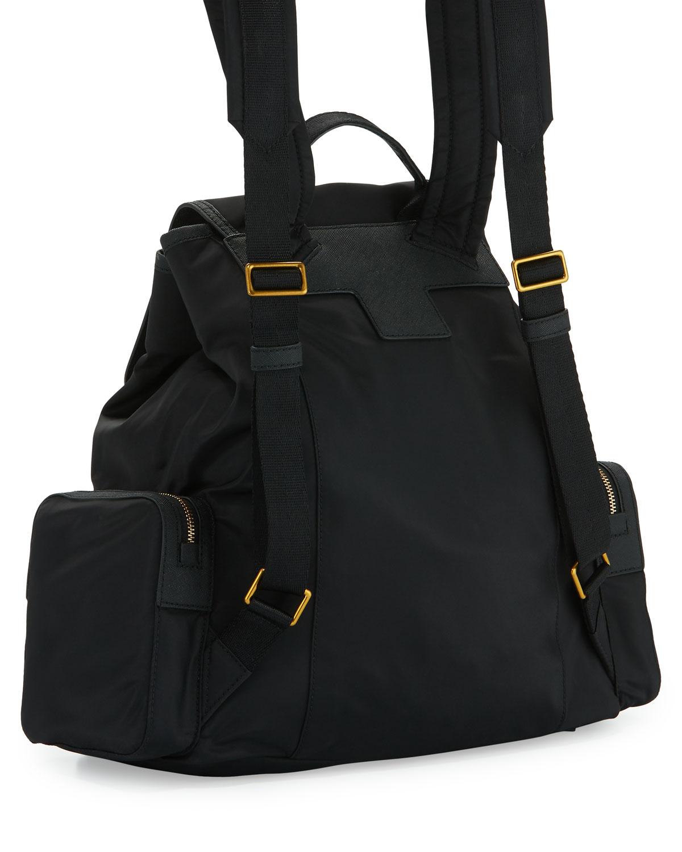 cc3d911319fa Tory Burch Tilda Nylon Flap Backpack- Fenix Toulouse Handball