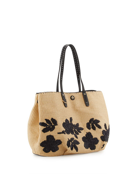 Kerrington Straw Square Tote Bag