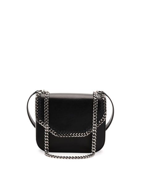 Stella McCartney Falabella Box Bird Shoulder Bag, Black
