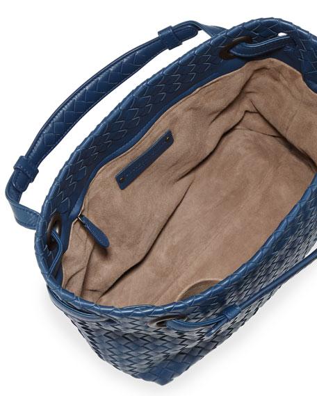 Intrecciato Small Square Bucket Bag