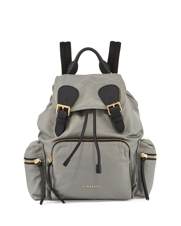 d6345d1f4e Burberry Medium Rucksack Runway Nylon Backpack | Neiman Marcus