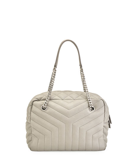 Loulou Monogram Y-Quilted Medium Bowling Bag
