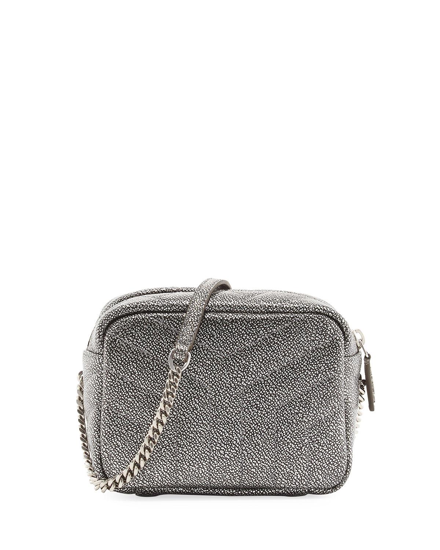 8468e09bd5fe Saint Laurent Monogram Y-Quilted Mini Leather Camera Crossbody Bag ...