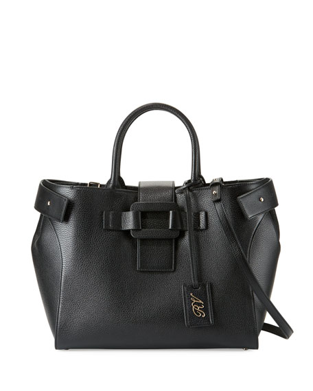 Pilgrim de Jour Medium Tote Bag, Black