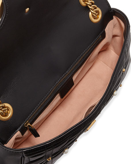 GG Marmont Medium Pearly Shoulder Bag