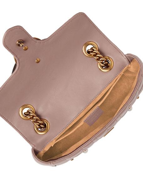 GG Marmont Pearly Matelassé Mini Bag