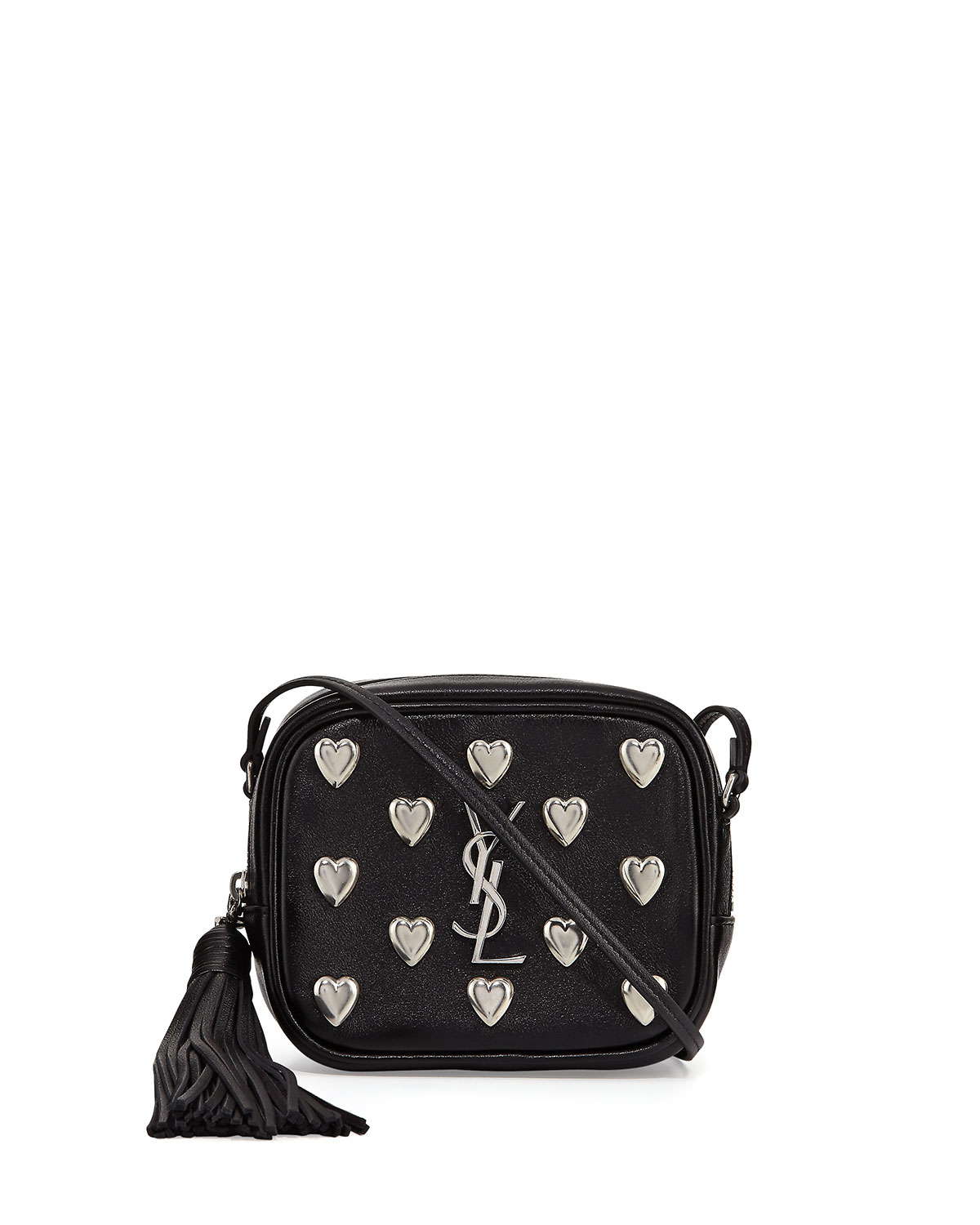 1bb550d306 Saint Laurent Monogram Blogger Heart Crossbody Bag
