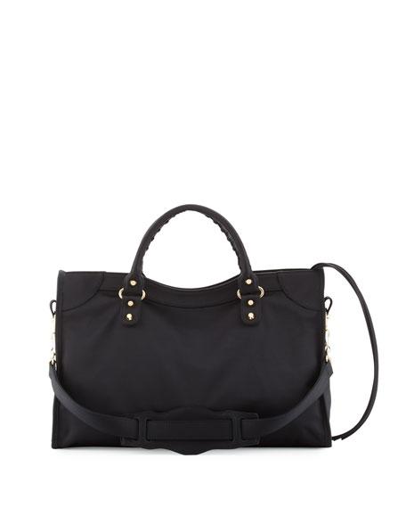 Classic City Nylon Shoulder Bag