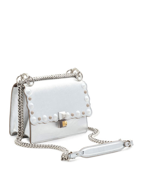 Image 4 of 4  Kan I Mini Scalloped Studded Chain Shoulder Bag f7b47e03d7370