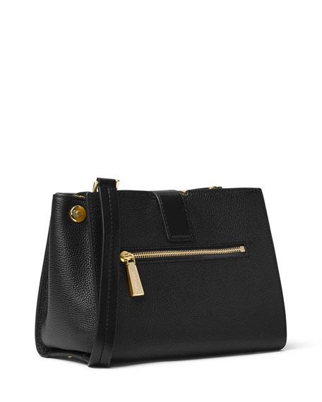Bond Medium Leather Messenger Bag