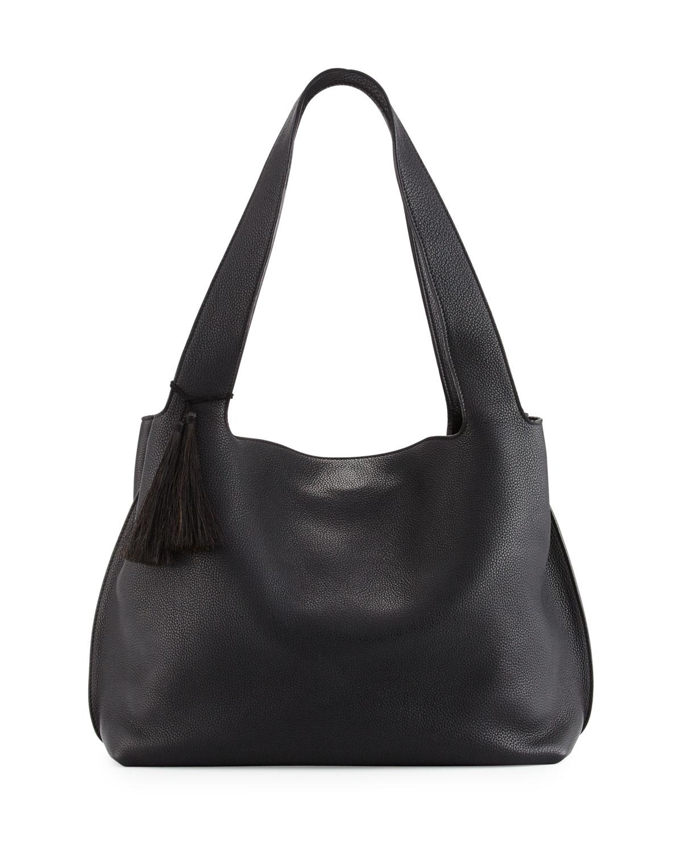 52e6972ca9 THE ROW Duplex Calfskin Hobo Bag