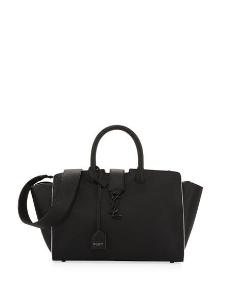 Saint Laurent Downtown Cabas Small Satchel Bag Black