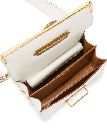 Prada Cahier Laser-Cut Shoulder Bag