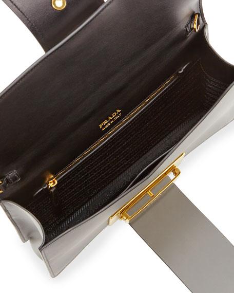 Metal Ribbon Shoulder Bag