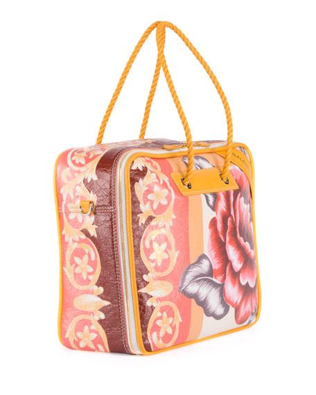 Blanket Square Small AJ Tote Bag
