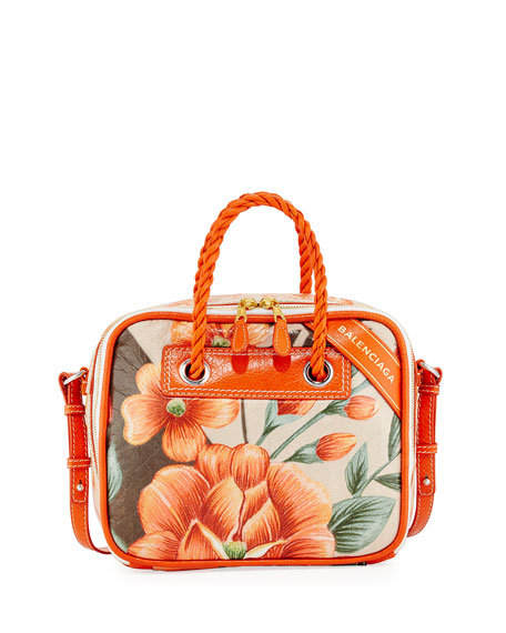 Balenciaga Blanket Square Small AJ Tote Bag
