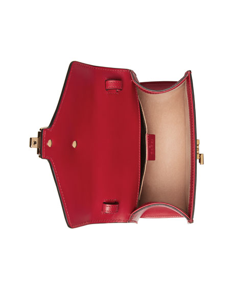 Sylvie Mini Leather Satchel Bag