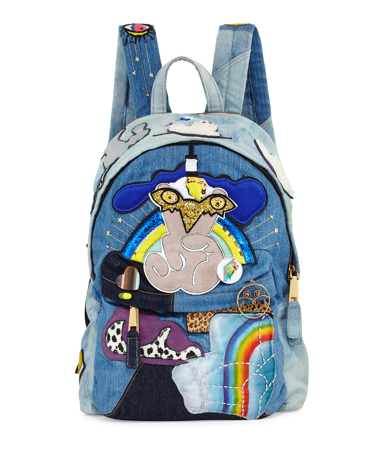 Marc Jacobs Patched backpack pjrrFW