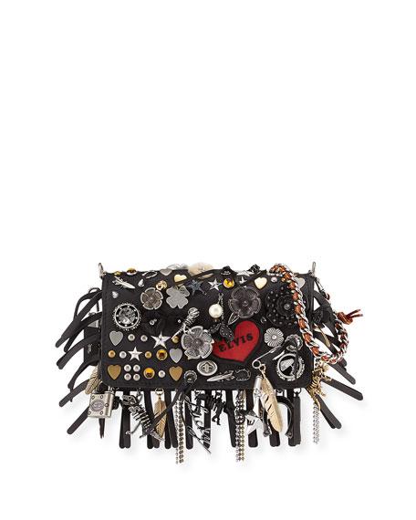 Coach 1941 Dinkier Souvenir Charms Shoulder Bag, Black