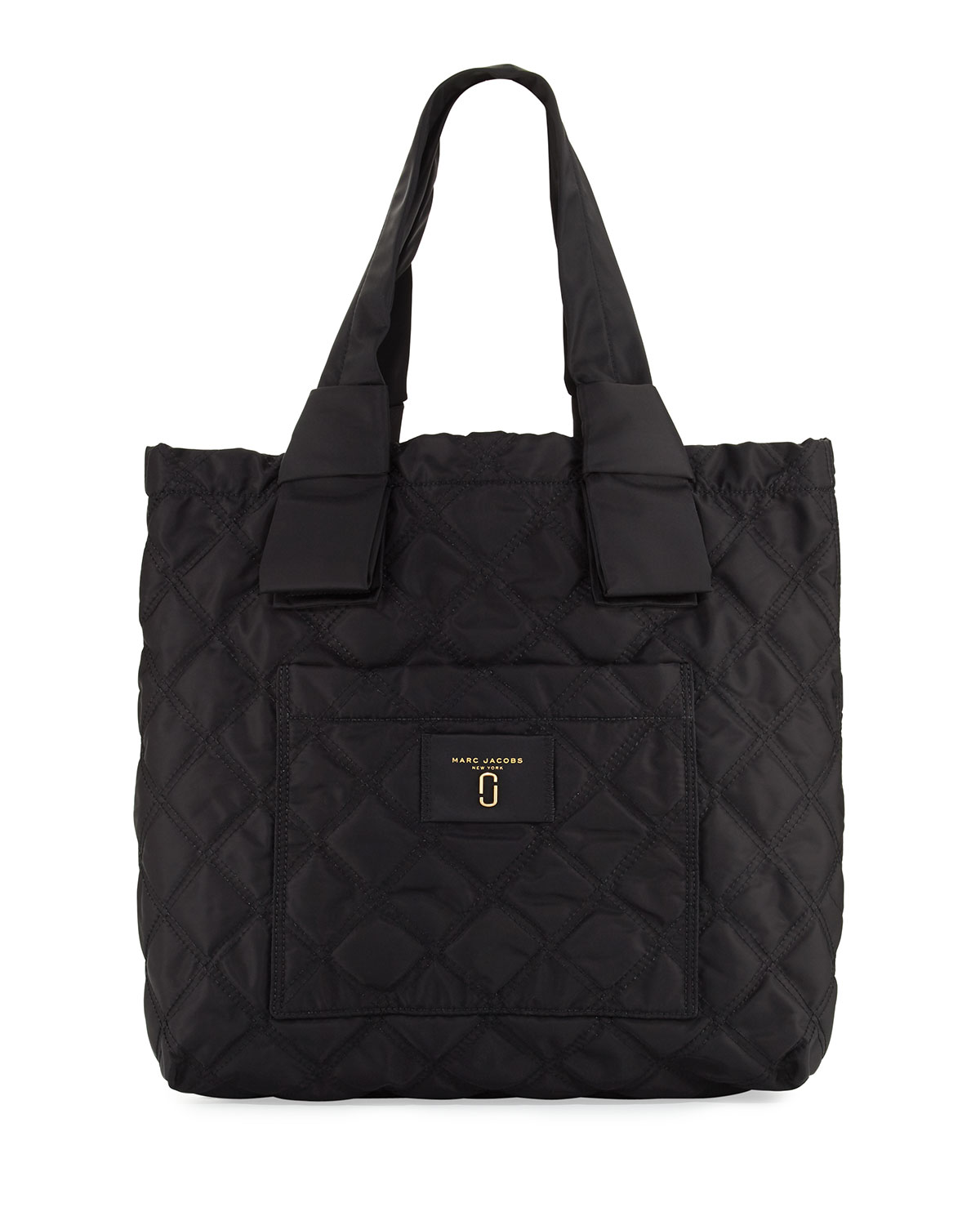 958f52d0e6501 Marc Jacobs Quilted Nylon Knot Tote Bag