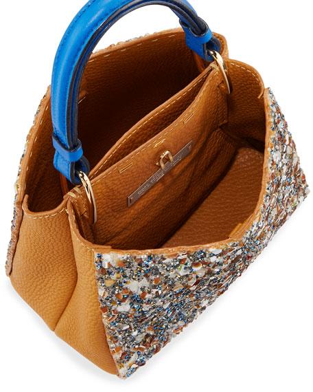 Seven 20 Crystal Embellished Tote Bag, Tan