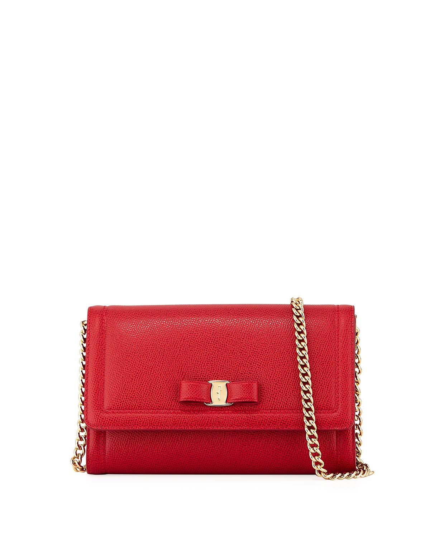 best selling 100% top quality fine craftsmanship Miss Vara Mini Crossbody Clutch Bag, Red