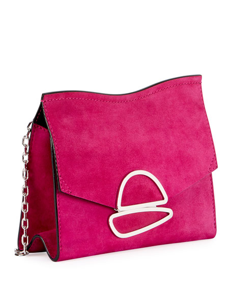 Curl Small Chain Clutch Bag