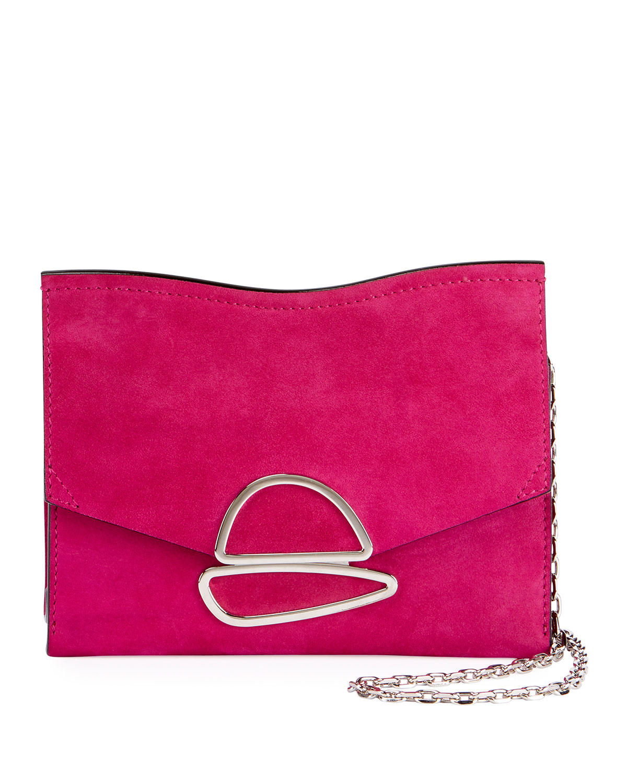 Small Curl Chain Clutch - Pink & Purple Proenza Schouler 6TLqoLN