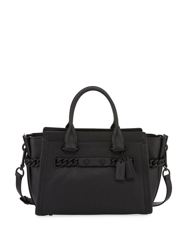 ea81818d3c6c7 Coach Swagger 27 Leather Satchel Bag