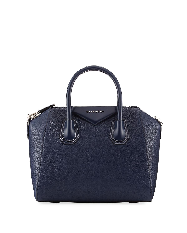 1cb77f013107 Givenchy Antigona Small Leather Satchel Bag