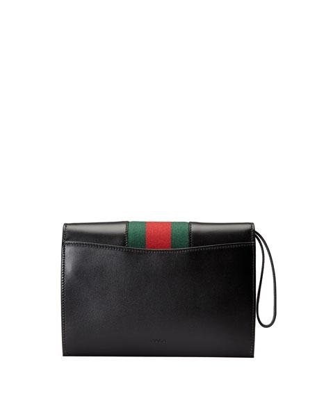 Sylvie Small Wristlet Clutch Bag