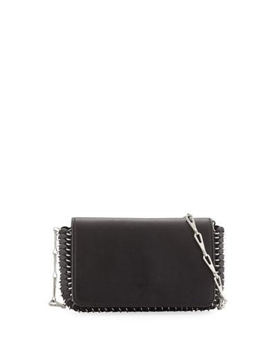 Classic Link Mini Shoulder Bag  Black