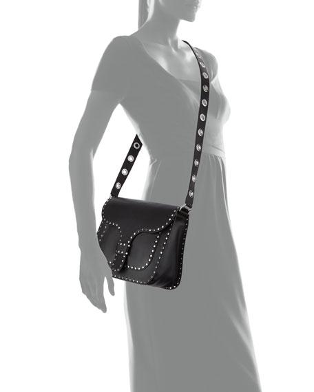 Midnighter Large Leather Messenger Bag