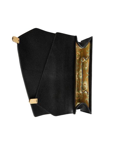 Ottilia Medium Insect Display Bamboo Top-Handle Bag