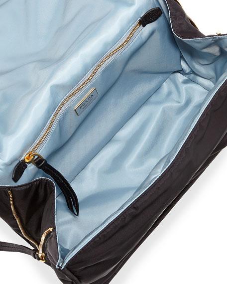 Etiquette Patchwork Large Python Shoulder Bag