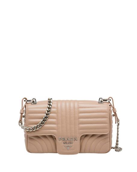 Prada Small Quilted Shoulder Bag