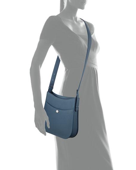 Fleur Medium Leather Crossbody Bag
