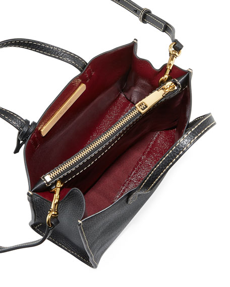 Grind Mini Pebbled Shopper Satchel Bag