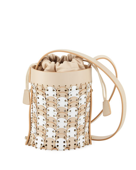 Iconic Mini Bicolor Bucket Bag