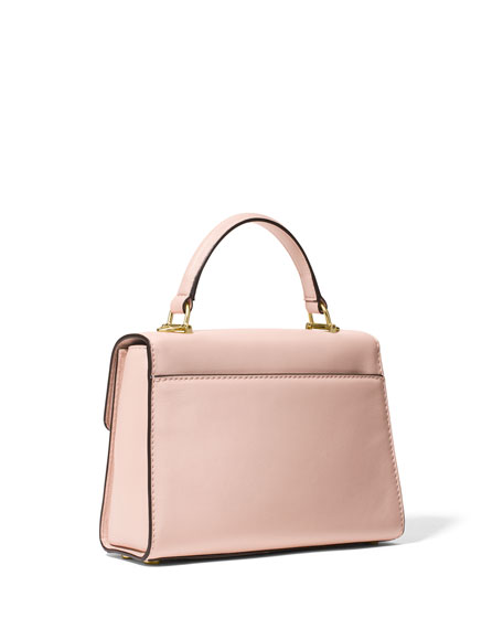 Sloan Small Polished Leather Satchel Bag