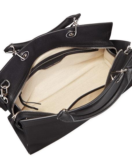 Large Shadow Leather Tote Bag